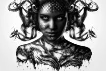 Medusa / One look into her eyes, and any living being turns to stone. What a beautiful last look!