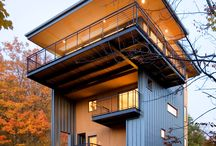 Cool Homes with a smaller footprint