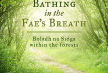 Bathing In The Fae's Breath / Bathing In The Fae's Breath is a tree hugger's compendium of poems, stories and wonderful things to do in woods and forests written by myself, Woodland Bard.   Add to that is a section called, 'Ogma's Tale Of The Trees'. A set of 20 story poems taking the reader on a vision quest using memory of trees through our maturing life that becomes engrained into the original 20 symbols of the Ogham alphabet.