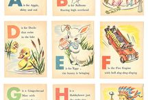 Vintage Birthday Illustrations