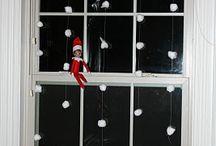 Xmas elf on the shelf ideas