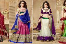 KanganaRanaut Bridal Lehenga Collection / #KanganaRanaut Bridal #Lehenga Collection #shopping #Bollywood bit.ly/1QKZxcf