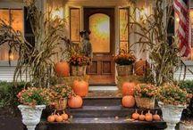 Halloween Fall Decor / by Melinda Faulkner