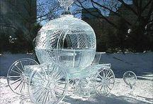 Mia's winter Cinderella themed party ideas