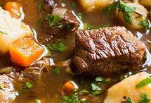 Irish stew with guiness