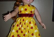 doll dresses / by Debbie Jackman