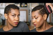 Natural hair twa