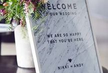 modern wedding. / Simplified, modern, edgy. You're looking for a wedding day that is unique and makes a statement.