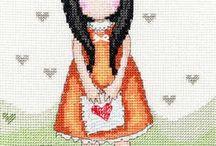 Cross stitch santoro