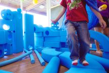 Play. / Eco-friendly play and party space