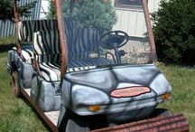 Carting around / All the variations of golf carts you can lay your eyes on!