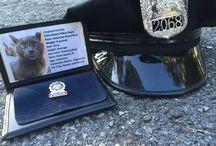 On Patrol / It's Smokie on patrol with the Palm Beach Police.