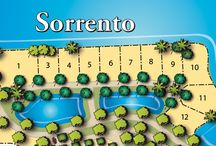 Sorrento - Miromar Lakes | Estero Real Estate / Each half-acre home site in Sorrento enjoys a sweeping waterfront view across Lake Como. Select from a list of preferred builders to design a custom grand estate home with every imaginable luxury detail in this intimate neighborhood of 11 home sites. Located on The Peninsula at Miromar Lakes, residents can water-ski, fish or take a leisurely cruise right from their doorstep. Beautiful waterfront lots are available for new-home construction.