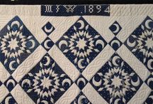 Blue & White Quilts / Oh, how I love Blue & White!!