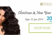 Festival Offers / Helping to create your definition of beauty. 100% virgin Indian hair.
