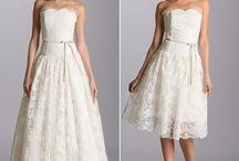 Wedding Dress to Reception Dress Ideas / by Little Pink Book Wedding Planner ♥