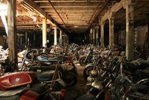 Abandonné : motos