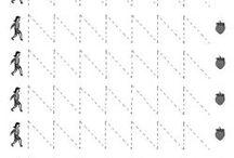 dik yazı çizgi