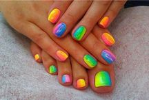 ** Colorful Nails ** / The best colorful nails for you, you can have healtier nails with argan oil #ARGANRain #nails #colorful #enjoyable #glittering #shiny #hands