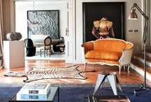 Living Rooms / by Vanessa De Vargas / Turquoise