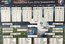 Euro 2016 Sweepstake / MarketOne Europe's Euro 2016 office sweepstake.