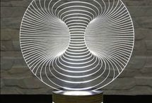 Akryl lampe