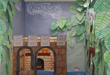 Jack and the Beanstalk / Pantomime set design