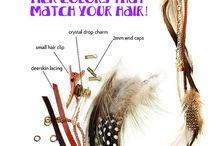 hair accessories DIY