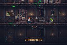 Pixel Game Sprites