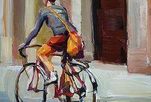 """13 - A bicyclette / """"Quand on partait de bon matin, quand on partait sur les chemins, à bicyclette..."""""""