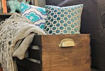 Home Improvement and Decorating / Making my space comfy, cozy, and functional. / by Loretta Lindsey