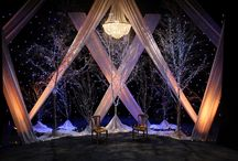 Pipe and Drape Inspiration / Suggestions for some pipe & drape options for your special event!