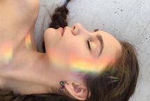 Outlines rainbow