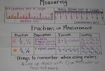 Math: Measurement / by Panicked Teacher