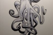 squid/mermaid/octo