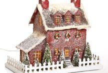 Christmas village houses I like