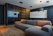 moderno industrial cinza madeira concreto e vidro