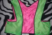 more HEARTS for kids :) / short bicycle vest great for your little princess