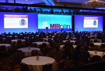 MirCon Conference @ Omni Shoreham / EVENTEQ worked with producer Leading Authorities to design and deliver set design, audio, lighting and video systems for General Session, breakouts, receptions and registration areas.