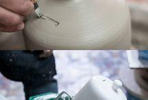 Arts & crafts: pottery,ceramics,concrete