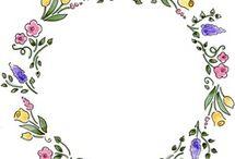 Manteles / Flores