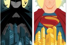 Batman vs Superman - The Epic Battle! / #comics #movies #action #DCcomics