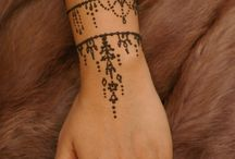 Tatuaggi con hennè