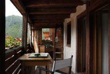 case in legno e pietra / case ristrutturate