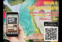 Tutto Degradato / Cartella promozionale per la app Tutto Degradato disponibile su Google Play Store: https://play.google.com/store/apps/details?id=com.samantha.tuttodegradato