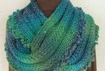 Knitting - scarves, wraps, cowls