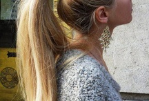 Hair Ponytails / Great ideas that will put an end to boring ponytails.