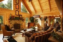 Log Homes / by Jesse Hernandez