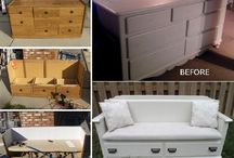Repurposing furniture
