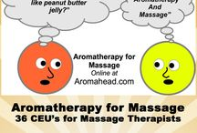 Aromatherapy for Massage / Aromatherapy is perfect addition to your massage practice! Learn how to use essential oils from the pins on this collaborative board created by Aromahead Institute and Big Tree School of Natural Healing. / by Aromahead Institute/Study Aromatherapy